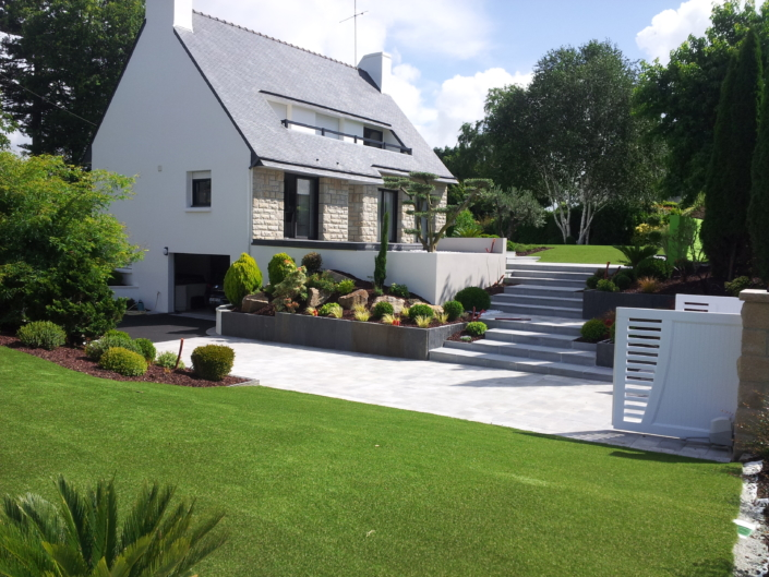 grand jardin tout synthétique